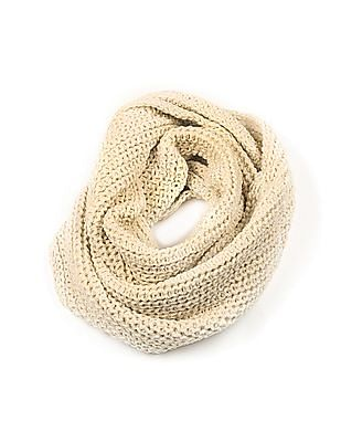 Aeropostale Ribbed Knit Infinity Scarf