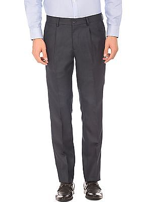 Excalibur Pleated Front Slim Fit Trousers