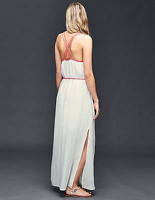 GAP Double-Strap Maxi Dress