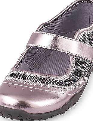The Children's Place Girls Recess Disco-Dot Trainer