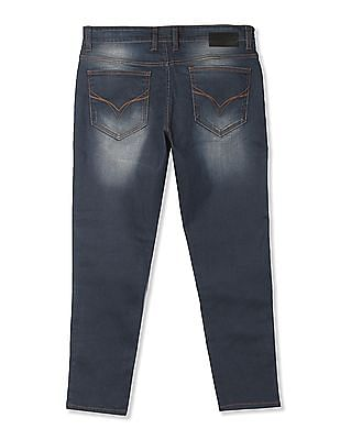 Flying Machine Mankle Fit Stone Washed Jeans