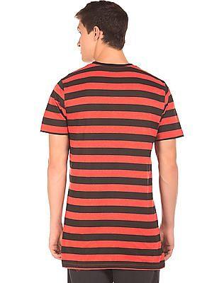 Colt Printed Pocket Striped T-Shirt