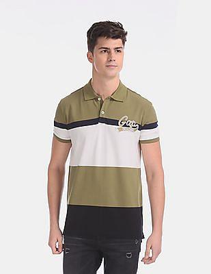 GAP Multi Colour Pique Polo Shirt