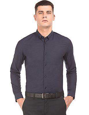Arrow Newyork Button Down Collar Slim Fit Shirt
