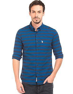 U.S. Polo Assn. Striped Regular Fit Shirt
