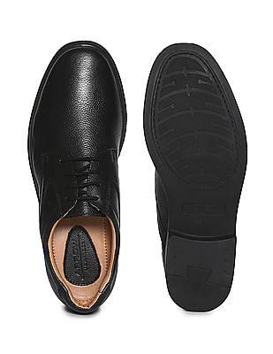 Arrow Pebblegrain Leather Derby Shoes