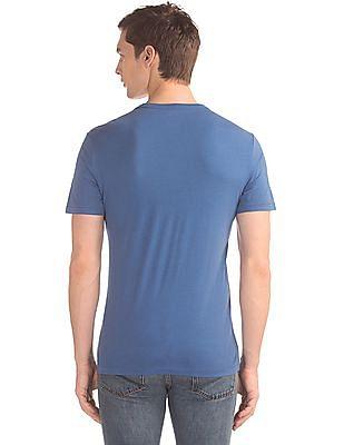 GAP Flock Print Crew Neck T-Shirt