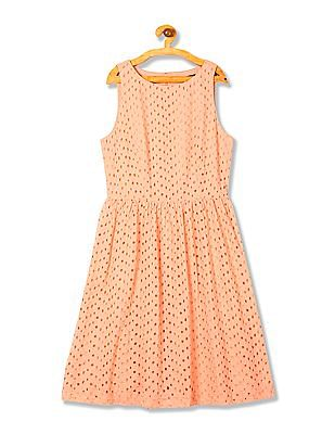 Gant Voile Broderie Anglais Dress