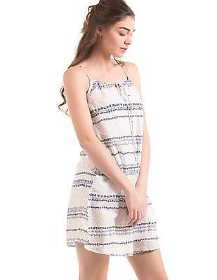 Elle Noodle Strap A-Line Dress