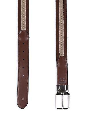 Arrow Sports Colour Block Reversible Belt