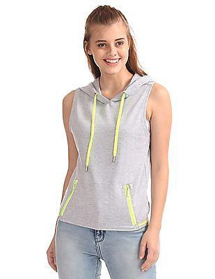 SUGR Sleeveless Active Sweatshirt