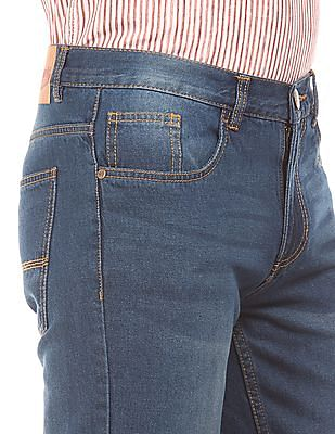Newport Slim Fit Washed Jeans