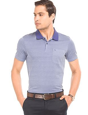 Arrow Two Tone Regular Fit Polo Shirt