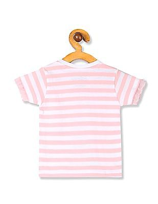 Colt White And Light Pink Girls Frozen Graphic T-Shirt