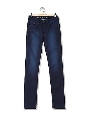 U.S. Polo Assn. Women Super Skinny Fit Low Rise Jeans