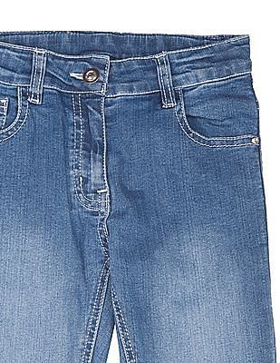 Cherokee Girls Stone Washed Slim Fit Jeans