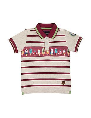 716c0cd63d Buy Boys Boys Short Sleeve Striped Polo Shirt online at NNNOW.com