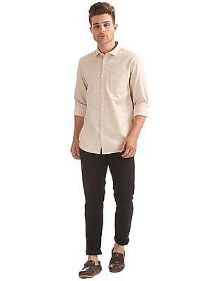Ruggers Regular Fit Patterned Shirt