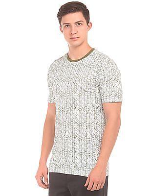 Cherokee Short Sleeved Printed T-Shirt