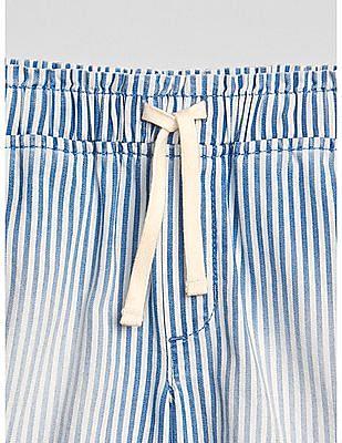 GAP Girls Stripe Pull-On Shorts