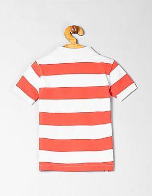 GAP Toddler Boy Stripe Polo Short Sleeve Shirt