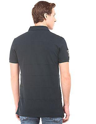 U.S. Polo Assn. Denim Co. Panelled Cotton Polo Shirt