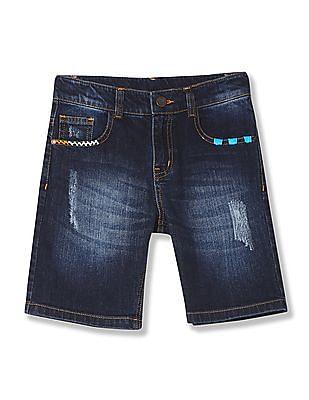 Cherokee Boys Regular Fit Denim Shorts