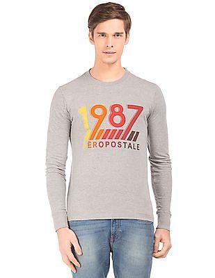 Aeropostale Long Sleeve Crew Neck T-Shirt