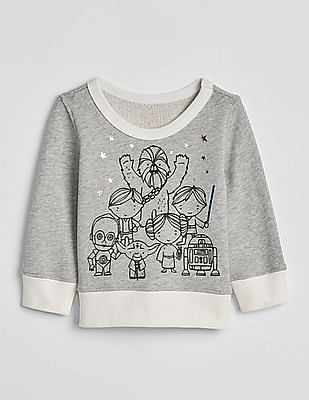GAP Baby Star Wars™ Crewneck Sweater
