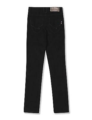 U.S. Polo Assn. Kids Girls Mid Rise Corduroy Trousers