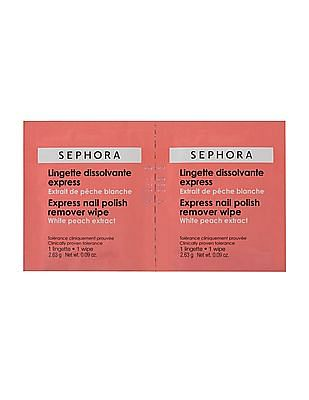 Sephora Collection Express Nail Polish Remover Wipes