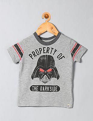 GAP Boys Grey Star Wars™ Graphic Football Slub Tee