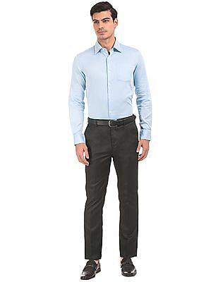 Arrow Tapered Fit Autoflex Waist Trousers