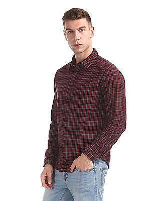 Roots by Ruggers Regular Fit Check Shirt