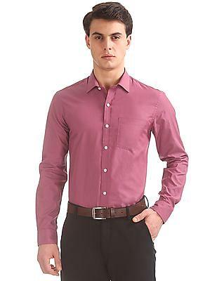 Arrow Slim Fit Two Tone Shirt