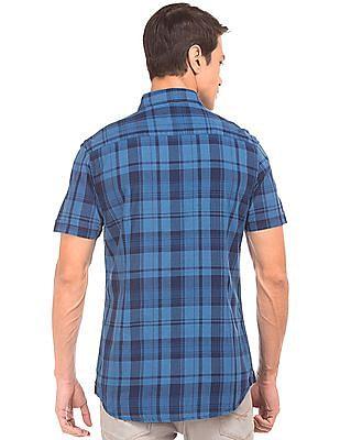 U.S. Polo Assn. Denim Co. Short Sleeve Check Shirt