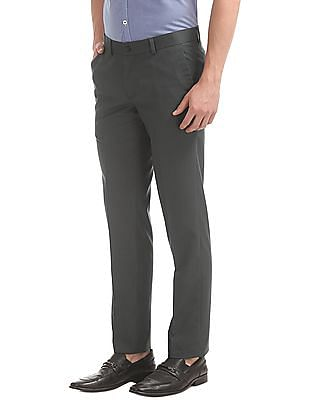 Excalibur Solid Slim Fit Trousers
