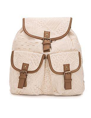SUGR Macramé Lace Backpack