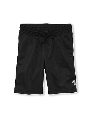 The Children's Place Boys PLACE Sport Solid Basketball Shorts