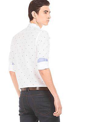 Arrow Sports Printed Regular Fit Shirt