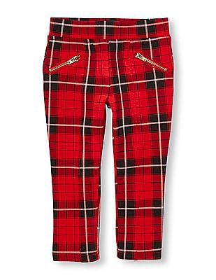The Children's Place Toddler Girl Plaid Ponte Pants