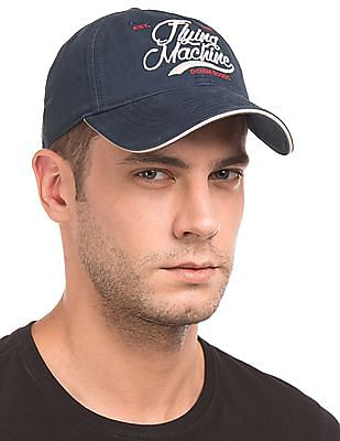 Flying Machine Embroidered Panelled Baseball Cap