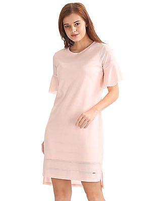 Elle High Low Hem Shift Dress