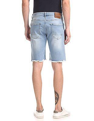 Aeropostale Washed Denim Shorts