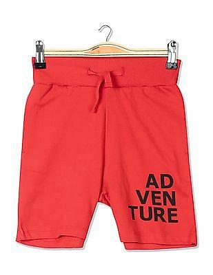 FM Boys Boys Slim Fit Knit Shorts