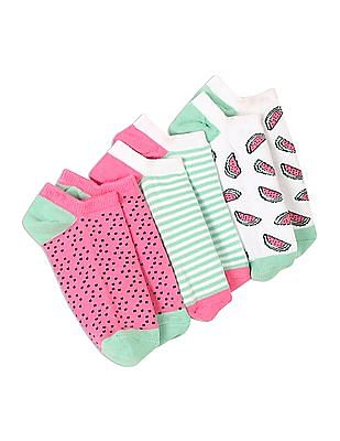 GAP Girls No-Show Socks Pack Of 3