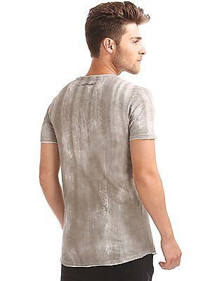 Ed Hardy Slim Fit Optic Wash T-Shirt