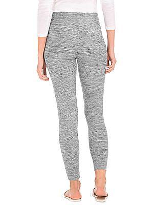 GAP Women Grey Soft Drawstring Leggings