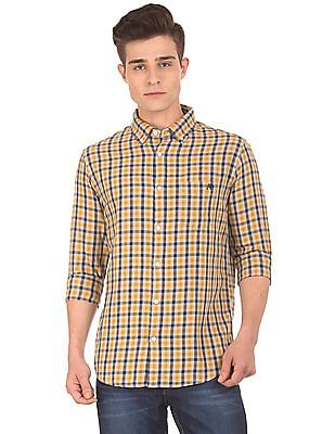 Aeropostale Button Down Gingham Shirt
