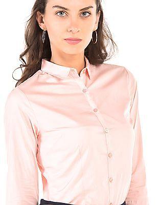 Arrow Woman Regular Fit Long Sleeve Shirt